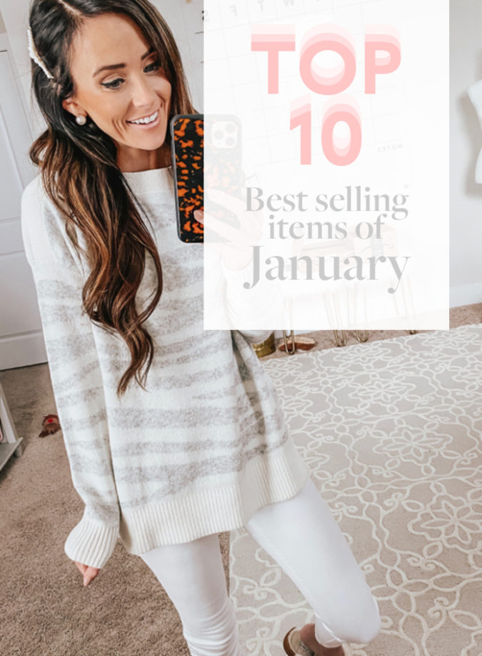 Top Ten Best Selling Items In January