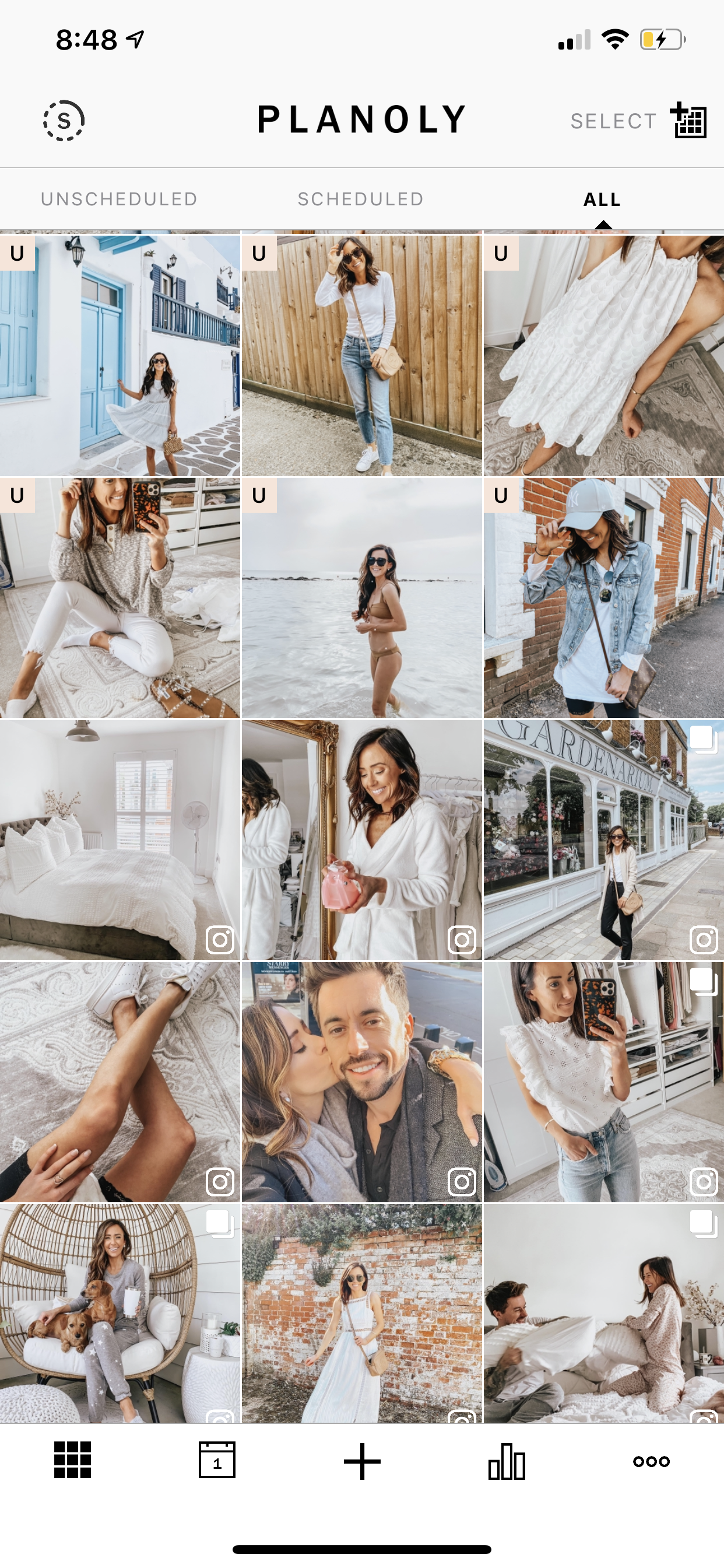 how to organize your instagram feed