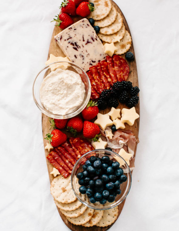 How to Create A Star Spangled Charcuterie Board