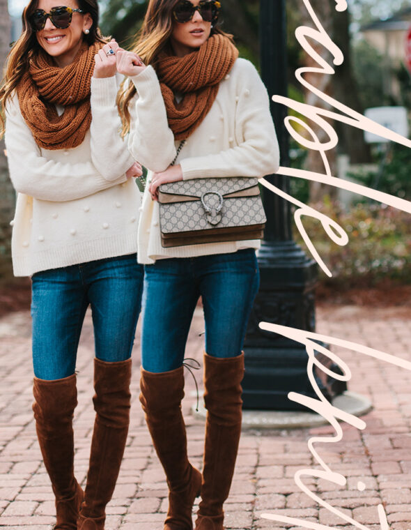 Holiday Style: Cable Knit Everything